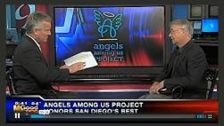 Angels Among Us Project's John Shimer TV Interview with KUSI